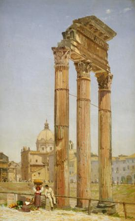 The Forum, Rome, 1875 by Niels-anders Bredal