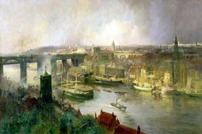 Newcastle Upon Tyne from Gateshead, 1895