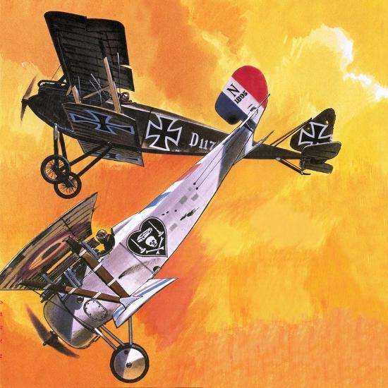Nieuport 24 Bis-Wilf Hardy-Giclee Print