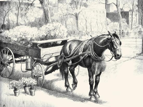 Nig; And Noon-C.W. Anderson-Art Print