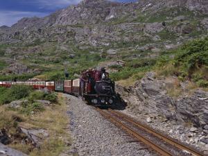 Ffestiniog Railway at Tanygrisiau by Nigel Blythe