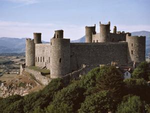 Harlech Castle, UNESCO World Heritage Site, Gwynedd, Wales, United Kingdom, Europe by Nigel Blythe