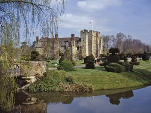 Leeds Castle, Rebuilt in Stone by the Normans around 1120, Kent, England, UK by Nigel Blythe