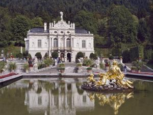 Schloss Linderhof in the Graswang Valley, Built Between 1870 and 1878 for King Ludwig II, Germany by Nigel Blythe