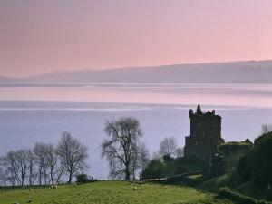 Urquhart Castle, Strone Point on the North-Western Shore of Loch Ness, Inverness-Shire by Nigel Blythe