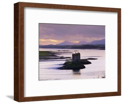 Castle Stalker at Sunset, Loch Linnhe, Argyll, Scotland