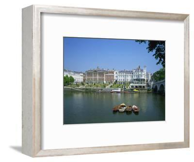 Riverside Architecture and the Thames, Richmond, Surrey, England, United Kingdom, Europe