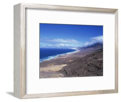 View of Playa De Cofete, Jandia Peninsula, Fuerteventura, Canary Islands, Spain, Atlantic, Europe