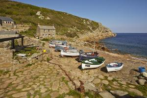 A Traditional Fishing Cove, Still Working the Seas, at Penberth, Near Penzance, Cornwall by Nigel Hicks