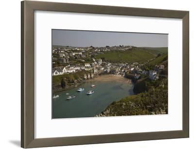 A View of the Harbor at Low Tide, at Port Isaac, Near Padstow, on the Atlantic Coast of Cornwall