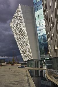 A view of the Titanic Museum, in the Titanic Quarter, Belfast, Ulster, Northern Ireland, United Kin by Nigel Hicks