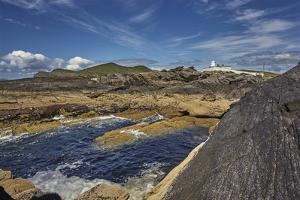 A view of Valentia Island lighthouse, Valentia Island, Skelligs Ring, Ring of Kerry, County Kerry, by Nigel Hicks
