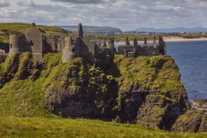Dunluce Castle, near Portrush, County Antrim, Ulster, Northern Ireland, United Kingdom, Europe by Nigel Hicks