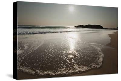 Surf at Constantine Bay, Shortly before Sunset, Near Padstow, Cornwall