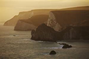 The Cliffs around Durdle Door, in the Jurassic Coast World Heritage Site, Dorset by Nigel Hicks