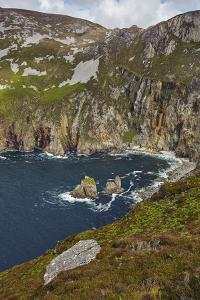 The cliffs at Slieve League, near Killybegs, County Donegal, Ulster, Republic of Ireland, Europe by Nigel Hicks