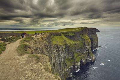 The Cliffs of Moher, near Lahinch, County Clare, Munster, Republic of Ireland, Europe by Nigel Hicks