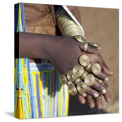 Balangida Lelu, Northern Tanzania;The Finery of a Datoga Woman;