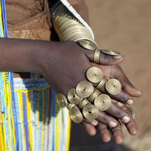 Balangida Lelu, Northern Tanzania;The Finery of a Datoga Woman; by Nigel Pavitt