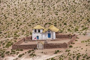 Chile, Atacama Desert, Machuca by Nigel Pavitt