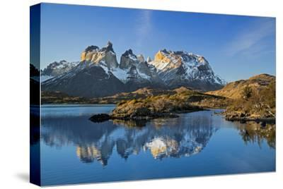 Chile, Torres Del Paine, Magallanes Province, Torres Del Paine National Park and Paine Massif