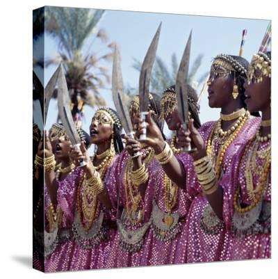 During a Dance, Girls from the Sultanate of Tadjoura, Dress Up in All their Finery and Display the
