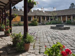 Ecuador, the Beautiful Hacienda San Augustin De Callo Is Built on the Site of an Inca Palace by Nigel Pavitt