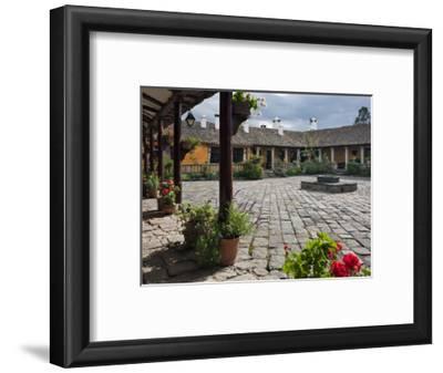 Ecuador, the Beautiful Hacienda San Augustin De Callo Is Built on the Site of an Inca Palace