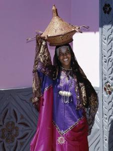 Harerge Province, Harar, an Harari Girl in Wedding Attire, Ethiopia by Nigel Pavitt