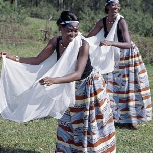 Intore Dancers Perform at Butare by Nigel Pavitt