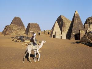 Situated a Short Distance East of Nile, Ancient Pyramids of Meroe are an Important Burial Ground by Nigel Pavitt