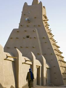 Timbuktu, the Sankore Mosque at Timbuktu Which Was Built in the 14th Century, Mali by Nigel Pavitt