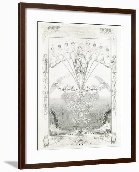 Night, 1805-Philipp Otto Runge-Framed Giclee Print