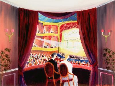 Night at the Ballet, 1984-Mark Baring-Giclee Print