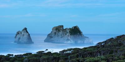 Night at Wharariki Beach on West Coast of South Island, Nelson, South Island, New Zealand, Pacific-John Alexander-Photographic Print