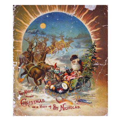 Night Before Christmas--Giclee Print