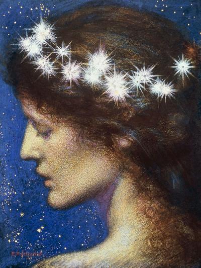 Night, c.1880-85-Edward Robert Hughes-Giclee Print