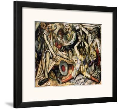 Night, c.1918-Max Beckmann-Framed Art Print