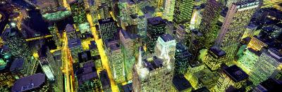 Night, Chicago, Illinois, USA--Photographic Print