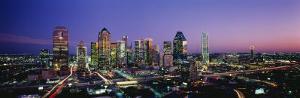 Night, Dallas, Texas, USA