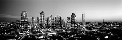 Night, Dallas, Texas, USA--Photographic Print
