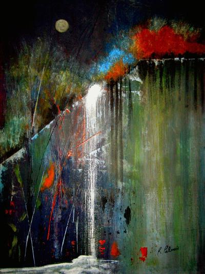 Night Falls-Ruth Palmer-Art Print