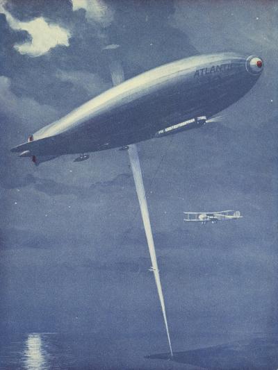 Night Flying--Giclee Print