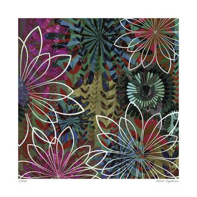 Night Garden III-James Burghardt-Giclee Print