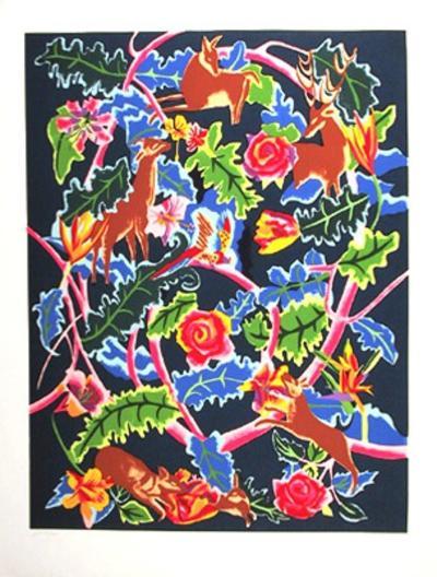 Night Garden-Linda Bastian-Limited Edition