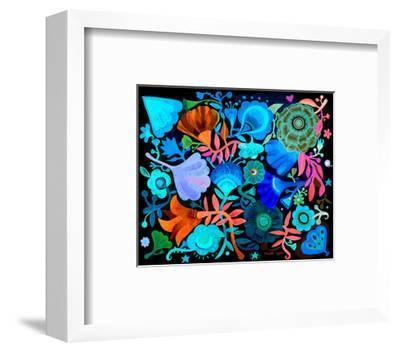 Night Garden-Mercedes Lagunas-Framed Art Print