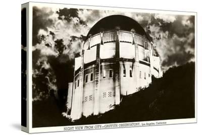 Night, Griffith Park Planetarium, Los Angeles, California