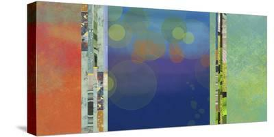 Night Lights II-Jan Weiss-Stretched Canvas Print