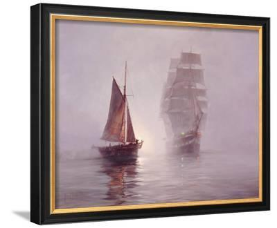 Night Mists-Montague Dawson-Framed Giclee Print