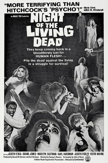 Night of the Living Dead, 1968--Art Print
